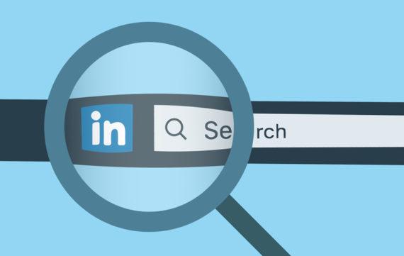 zoeken op LinkedIn